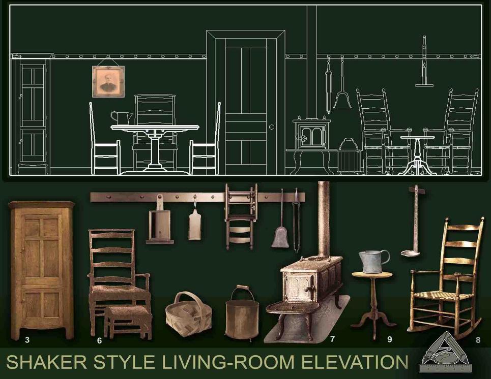 Ela garwacka goralik for Living room elevation